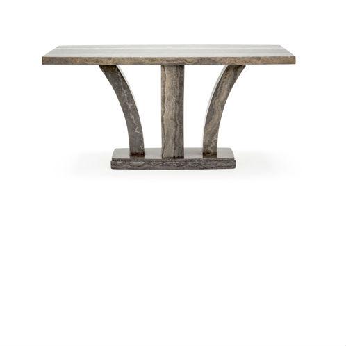d4b309d9e3d5 Amalfi Luxury Marble Wood Dining Table Pearl Grey 180cm lightbox. prev