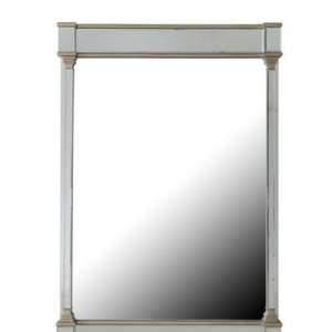 Apollo Champagne Wall Mirror