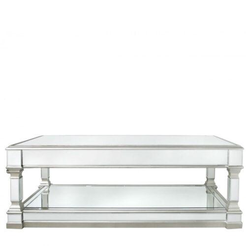 Apollo Silver Mirror Coffee Table