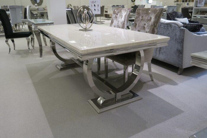 Arianna Cream Dining Table