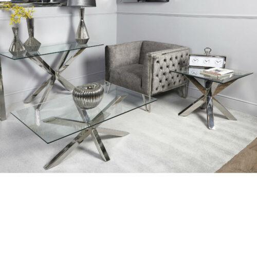 Avery Glass Coffee Table