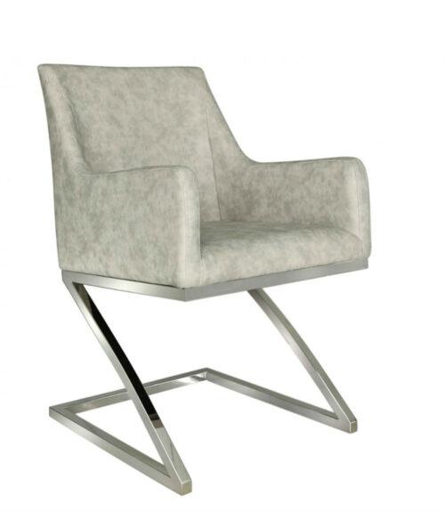 Avery Light Grey Dining Chair