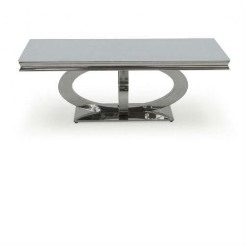 Athena White Coffee Table 130cm