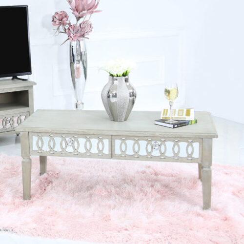 Bayside-Mirrored-Hampton-Style-2-Drawer-Coffee-Lounge-Table