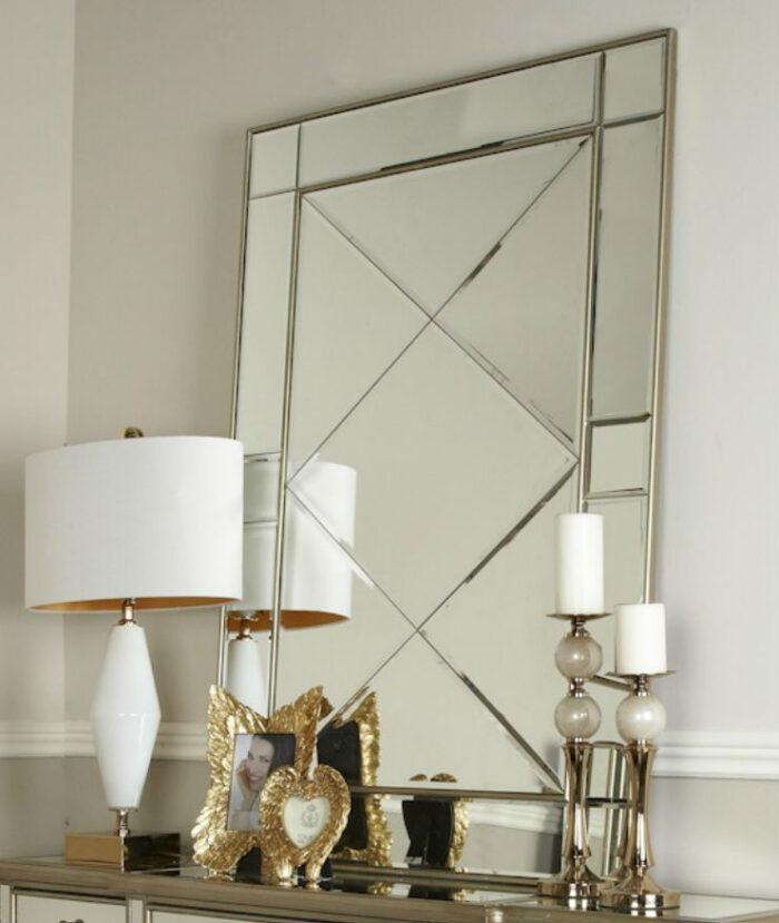 Grace Gold Wall Mirror