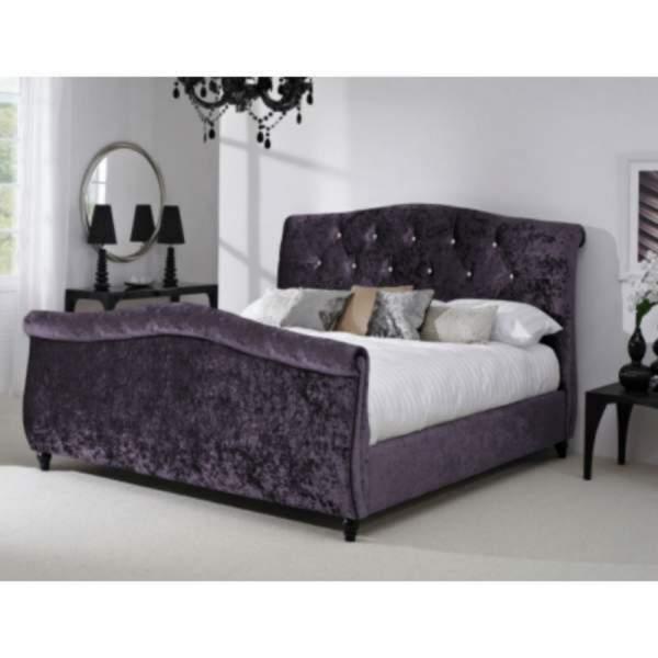 Crushed Velvet Bijou Bed