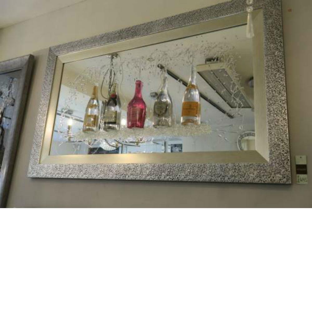 Champagne Mirror And Liquid Wall Art
