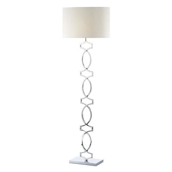 Donovan Polished Chrome Floor Lamp