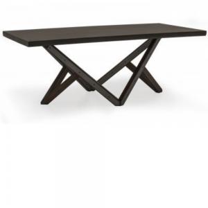 Gratiano Walnut Rectangular Dining Table - 197cm