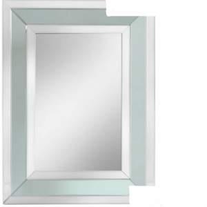 Grey Glass Wall Mirror