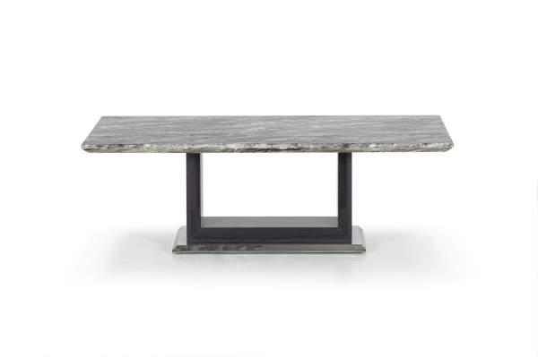 Jasmine Marble Wood Coffee Table Grey