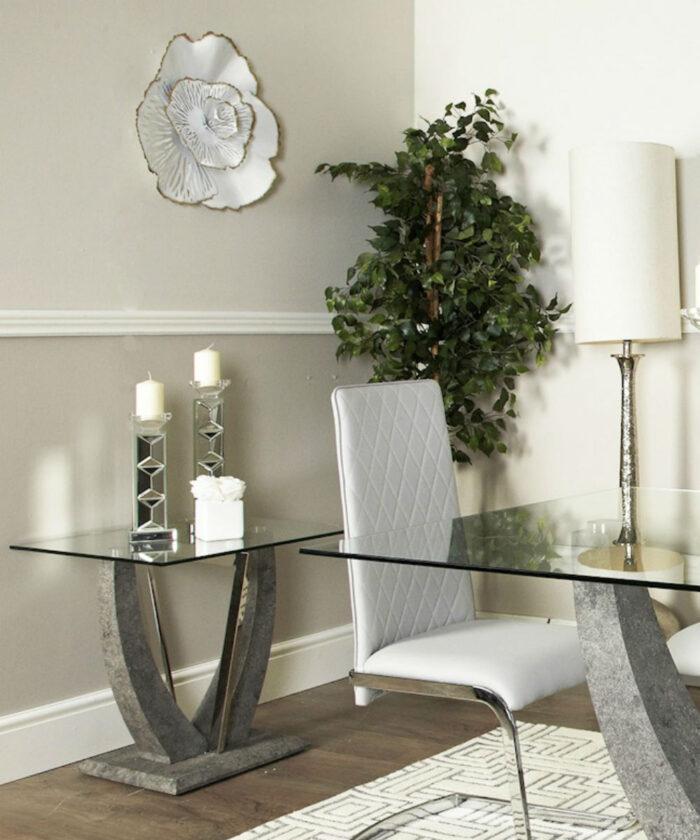 Sahara Grey End Table