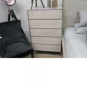 Lilly 5 Drawer Tallboy Cabinet