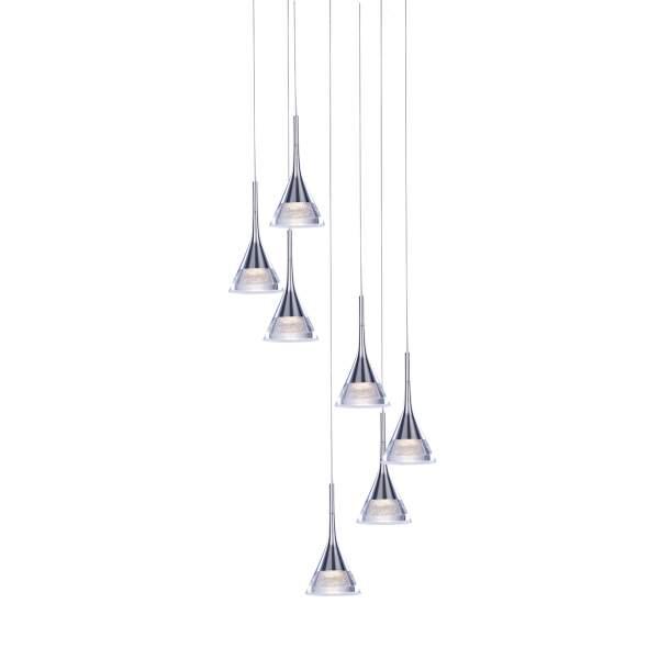 Jewel LED 7 Light Spiral