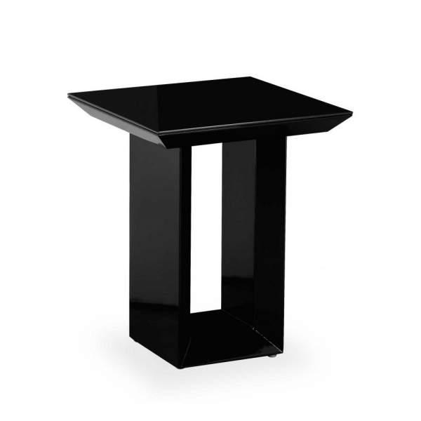 Soho Black High Gloss Side Table