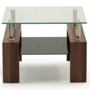 Maya Walnut End Table