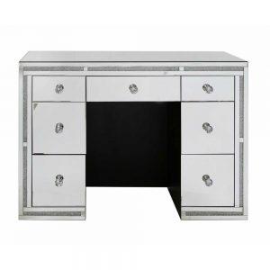 Milo Sparkle Mirror 7 Drawer Dressing Table
