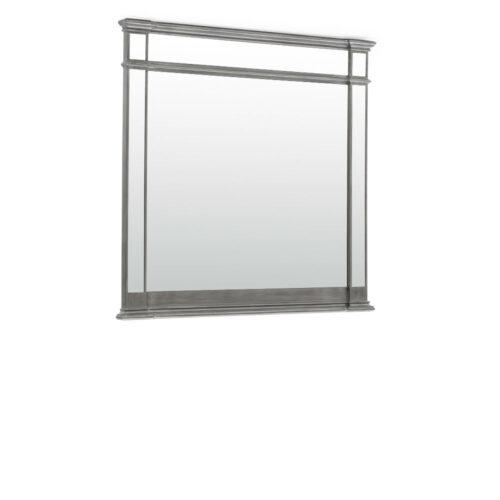 Ophelia Grey Trim Art Deco Mirror