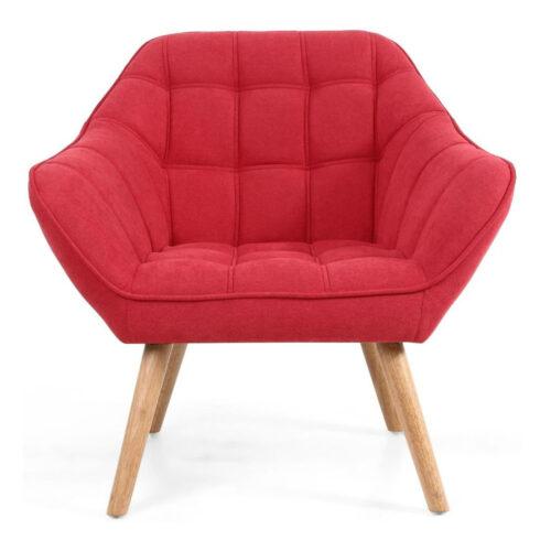 Shankar chair - Coral Scarlet