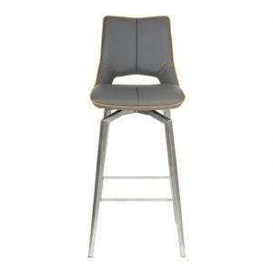 Shankar chair - Mako Graphite Grey Bar stool