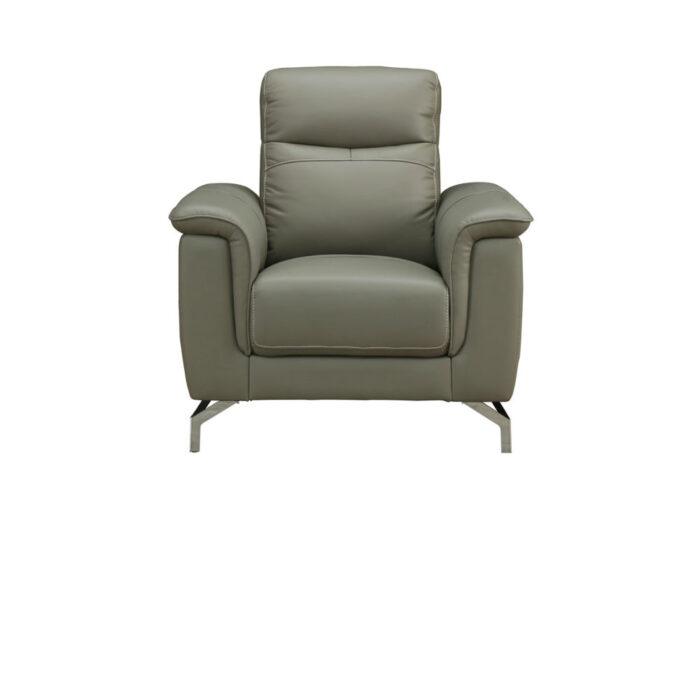 Simone Grey 1 Seater