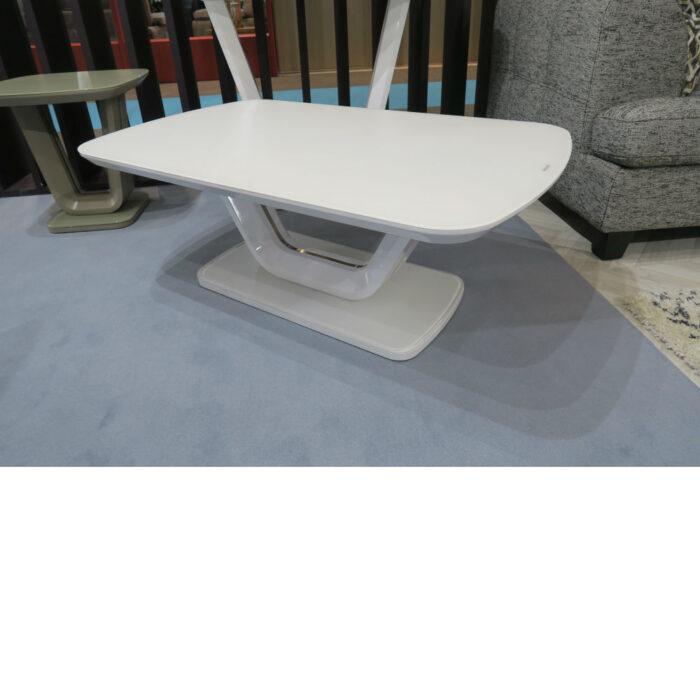 Vida Living Lazzaro White Gloss Coffee Table
