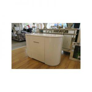 White high gloss dressing table