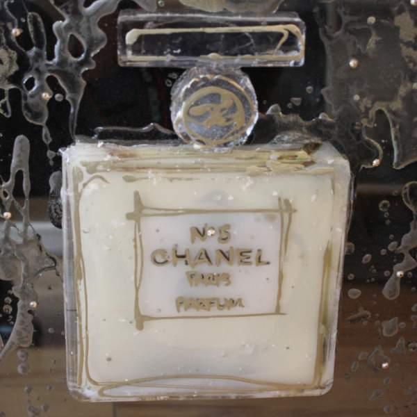 Chanel No 5 3d Liquid Wall Art Nicholas John Interiors