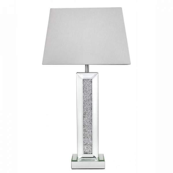 Milo Sparkle Crystal Diamond Crush Table Lamp