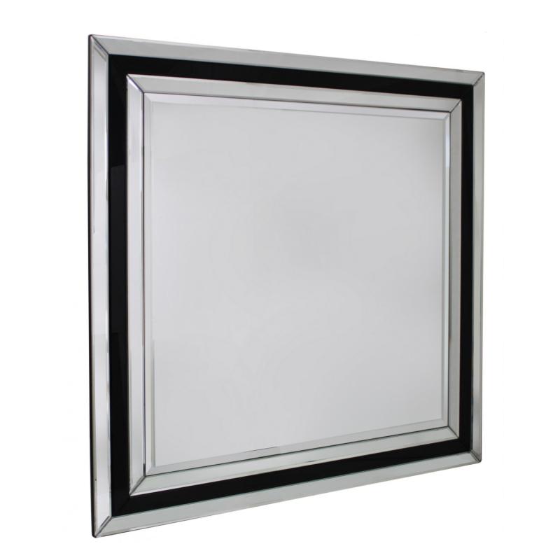 Verre Noir Wall Mirror
